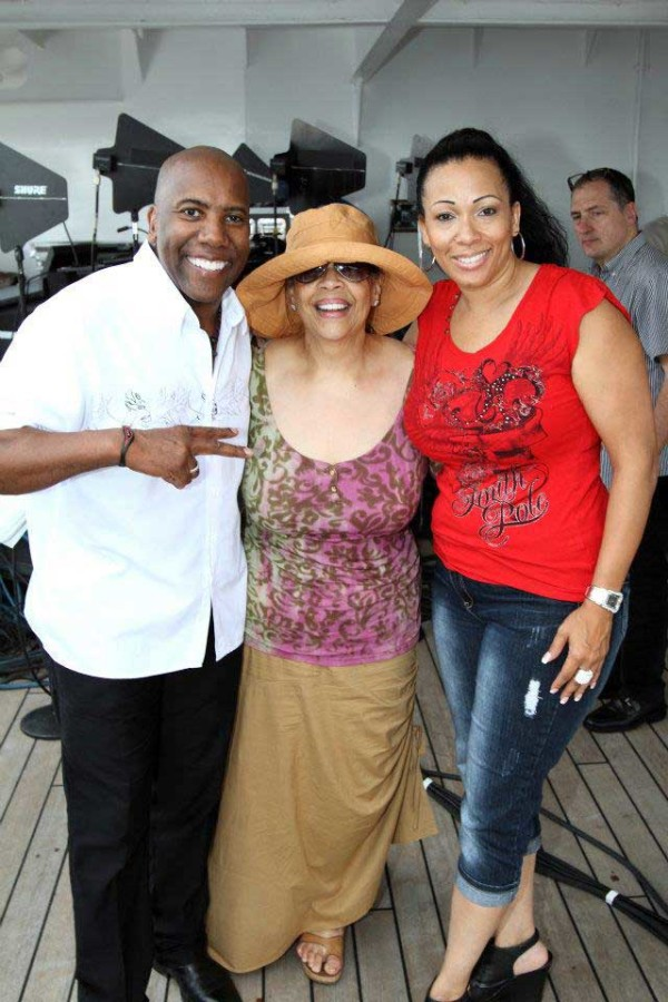 Pattie Austin, Nathan East and Lexi Lewis