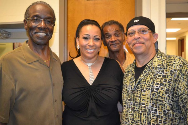 Lexi Lewis with Ohio Players